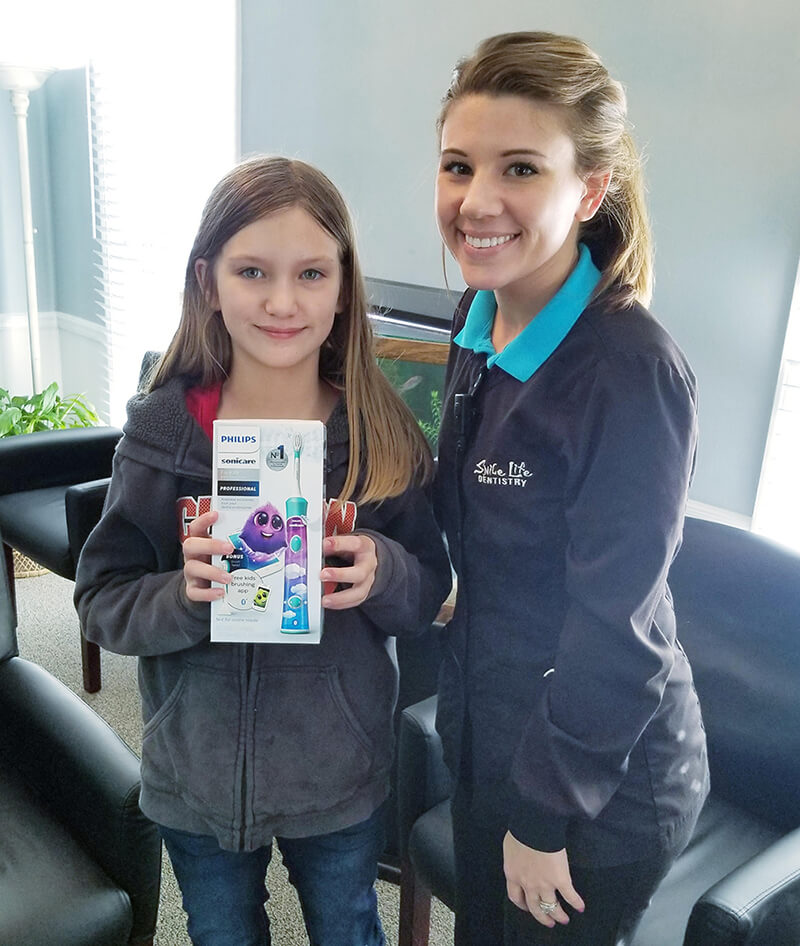 Sonicare Toothbrush Birthday Winners